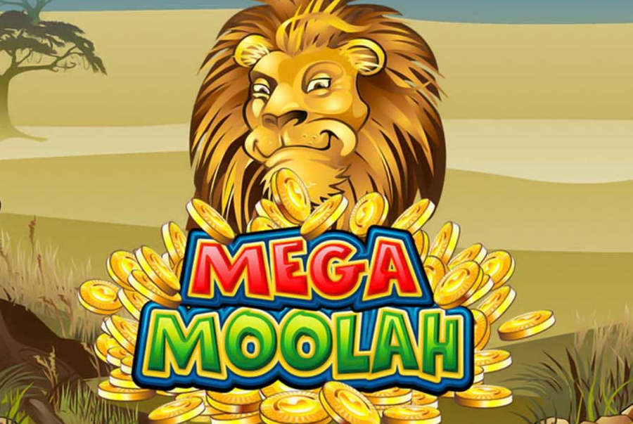 Mega Moolah's official game poster.