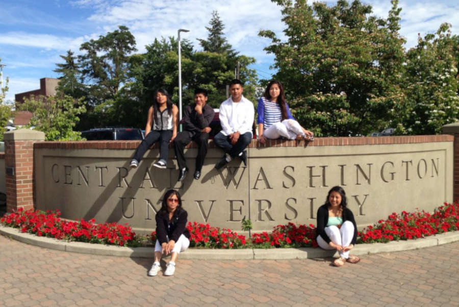 Students at the Central Washington University.
