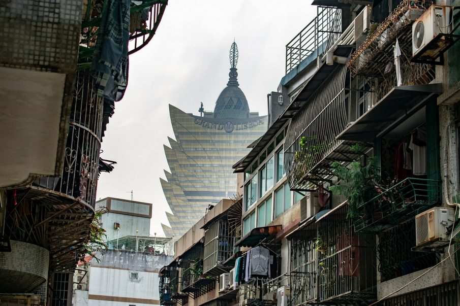 Macau casino shares drop by 13%