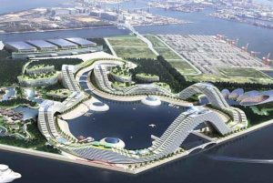 MGM's design of an Integrated Resort in Osaka, Japan.