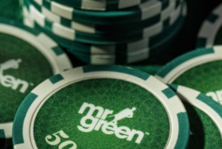 Mr Green branded chips.