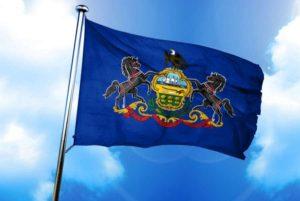 Pennsylvania's official flag.