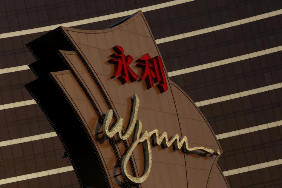 Wynn Macau's property.