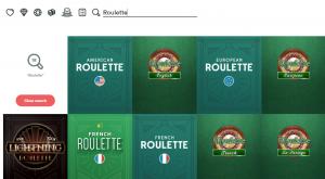 casumo casino game selection