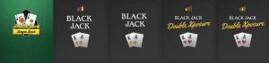 blackjack games on Casumo Casino