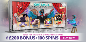 karamba welcome bonus offer and free spins