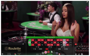 live roulette in-game screenshot