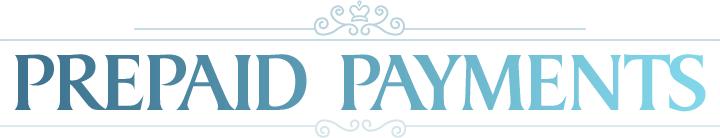 prepaid payments header
