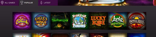 Popular Slots Games Jackpot City
