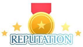 Reputation at online casinos.