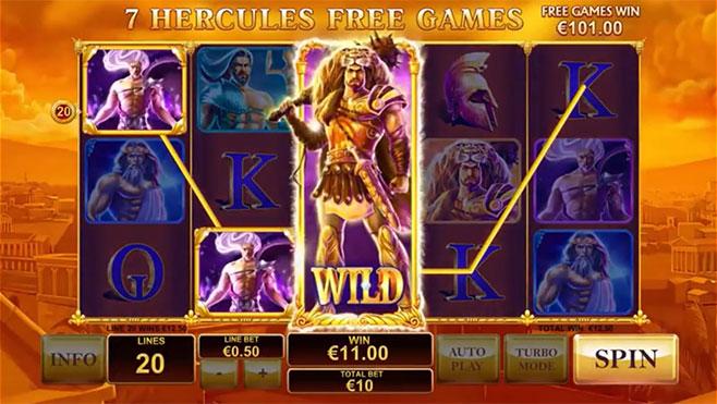 screenshot playtech age of gods