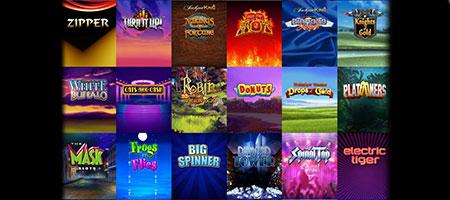 Slot games variety